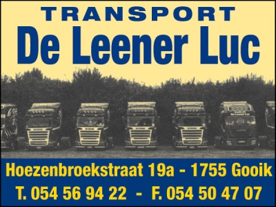 Transport De Leener Luc
