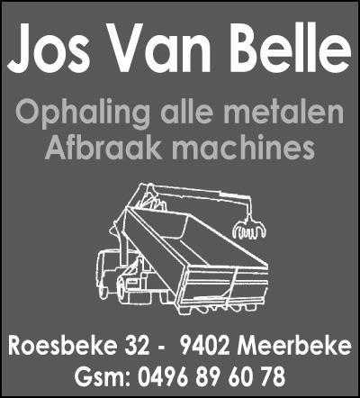 Afbraak machines Jos Van Belle