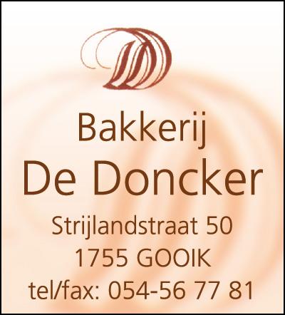Bakkerij De Doncker