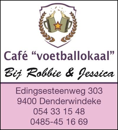 Café voetballokaal Bij Robbie en Jessica