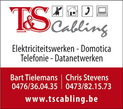 Electriciteit-Domotica T&S Cabling