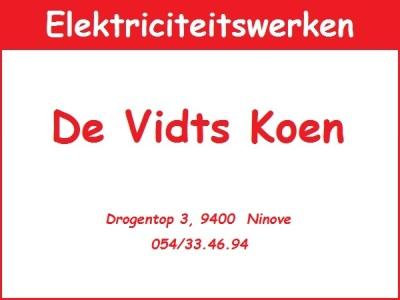 Electriciteit De Vidts Koen